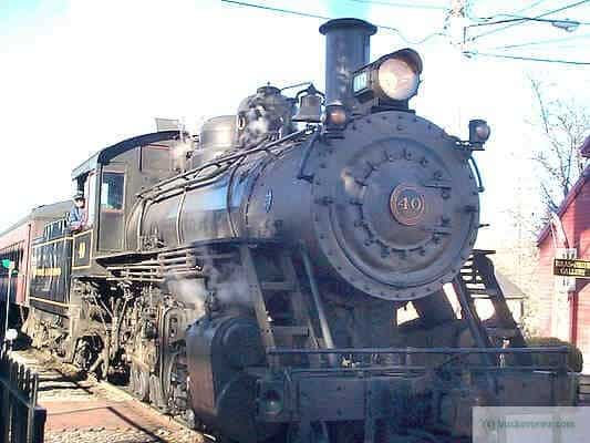 Engine number 40 at New Hope