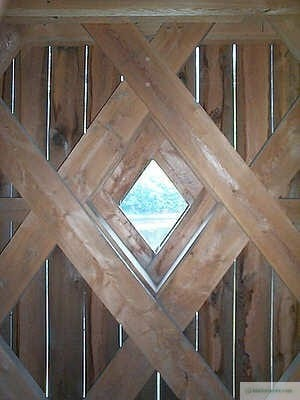Schofield Covered Bridge Window