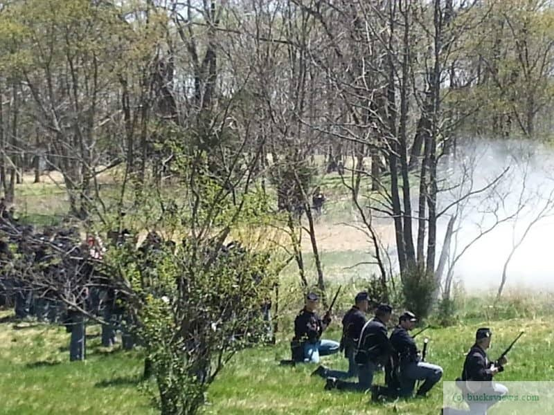 Civil War Reenactment at Neshaminy Park
