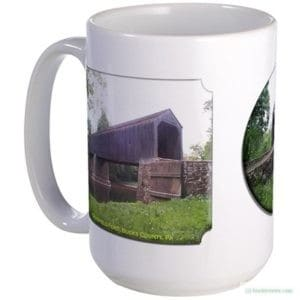 Large Mug Schofield Ford Covered Bridge