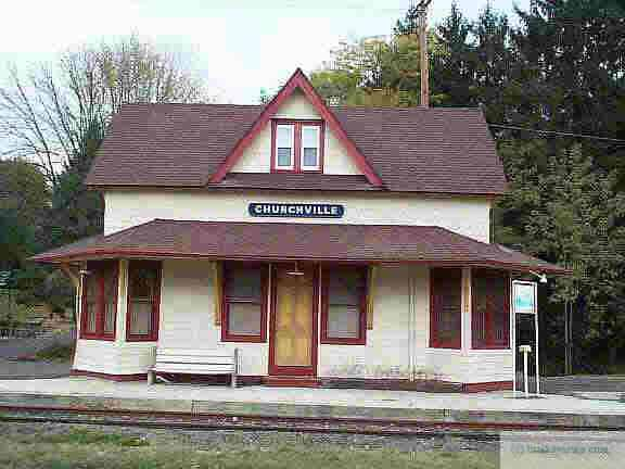 The Churcheville Train Station