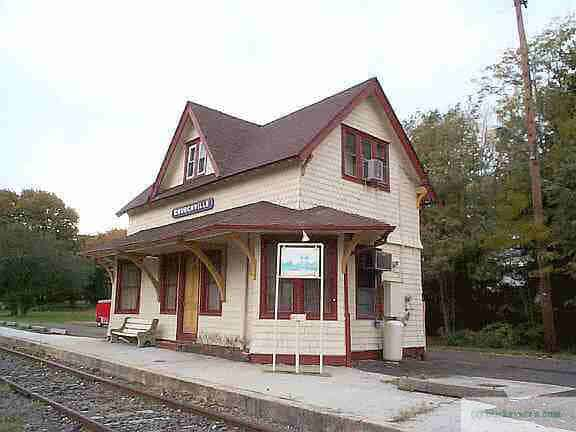 The Churchville Train Station