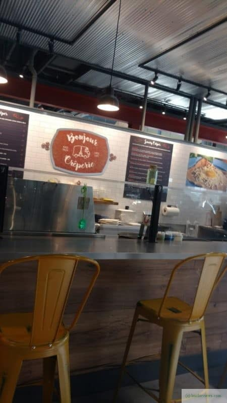 Bonjour Creperie at the Ferry Market in New Hope PA