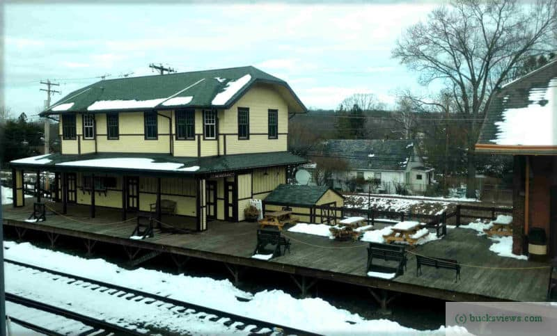 Old Freight House at the New Hope Railroad Station