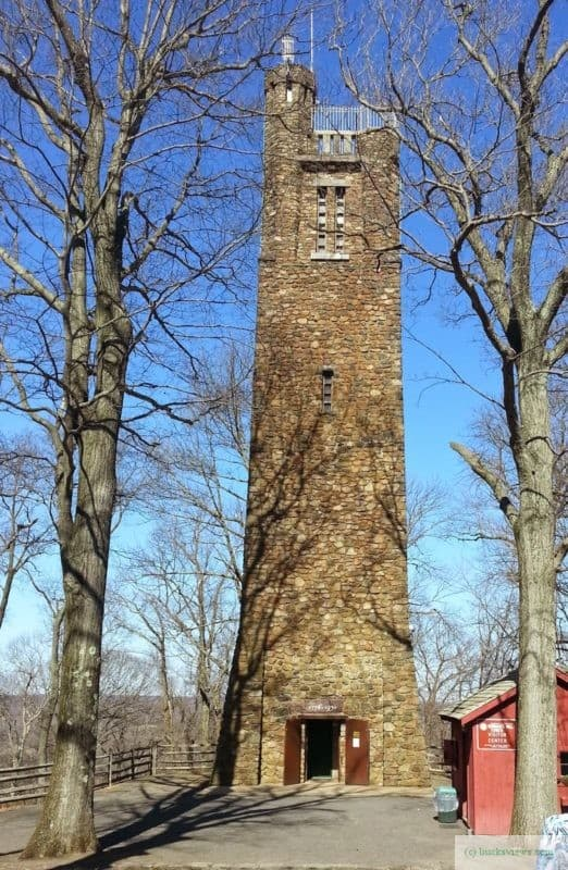 Bowman's Tower just outside of New Hope