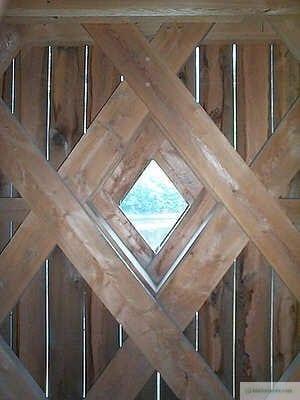 Schofield Covered Bridge Window