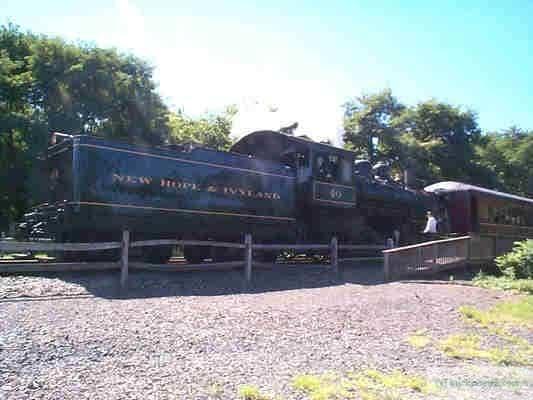 Engine number 40 at Lahaska