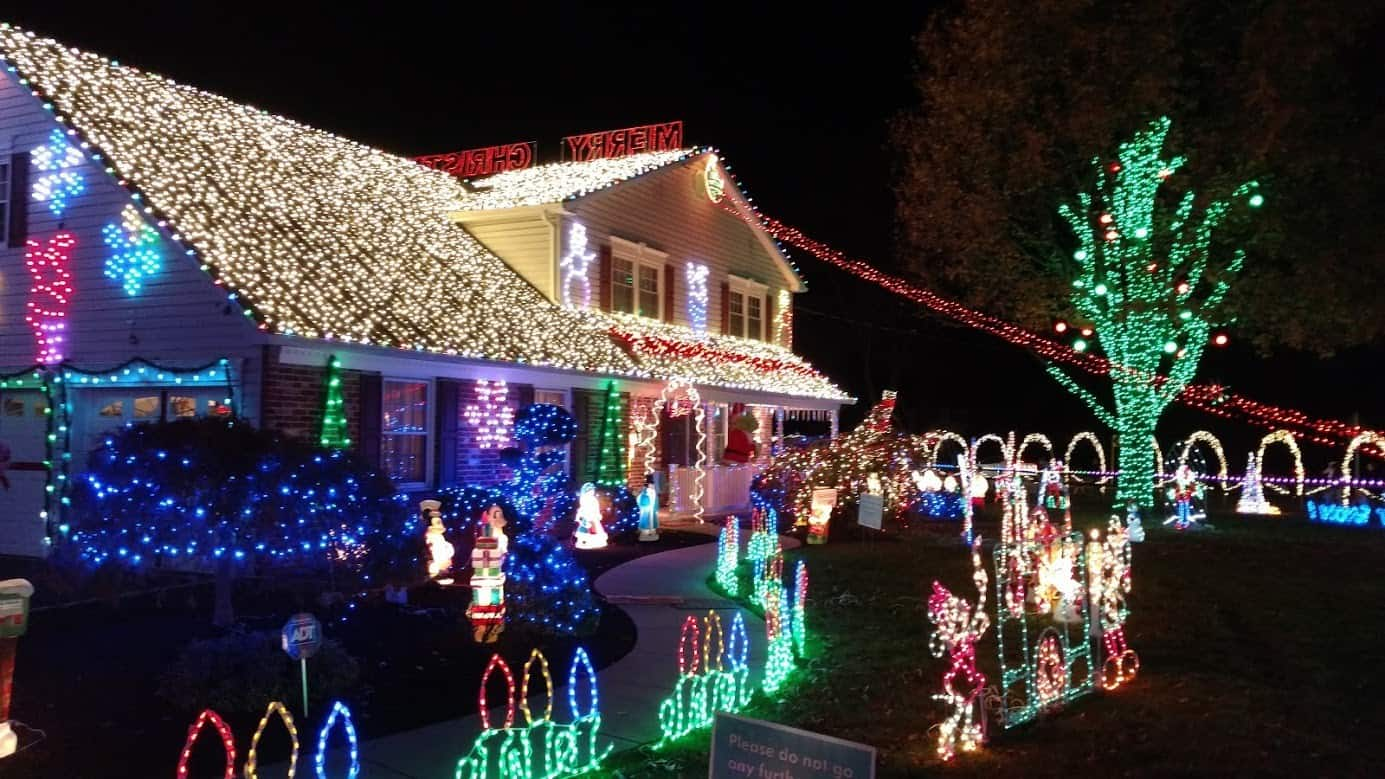 Christmas Display in Upper Moreland
