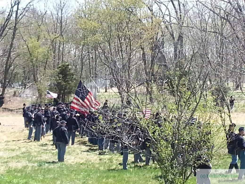 Civil War Reenactment at Neshaminy Park