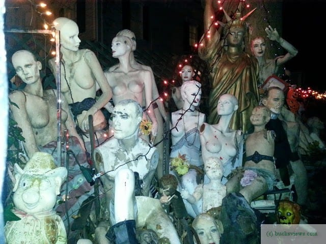 Macabre Mannequins in New Hope