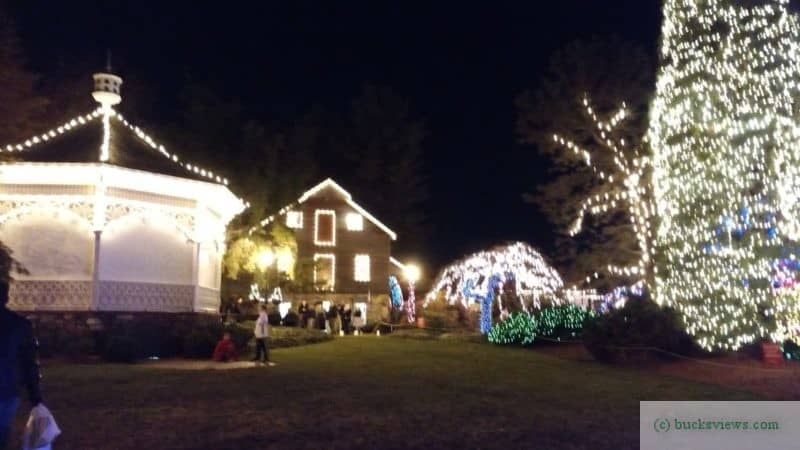 Peddlers Village Christmas LIghts 2017