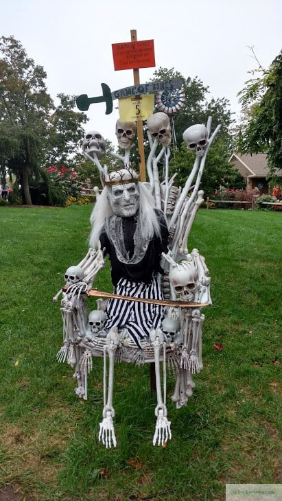 Peddlers Village Scarecrow Festival 2016 - Bones