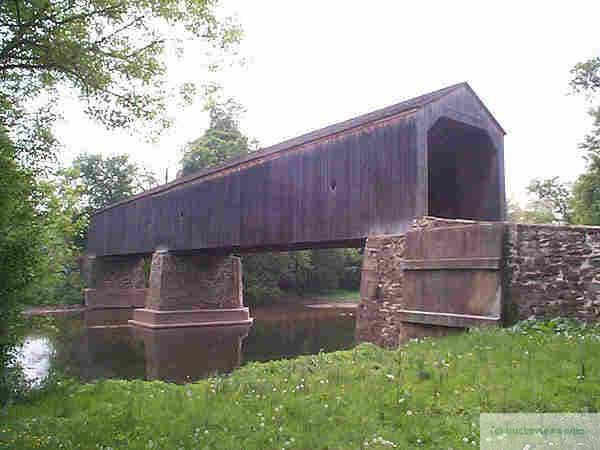 Schofield Covered Bridge in Tyler Park