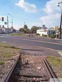 Old grade crossing