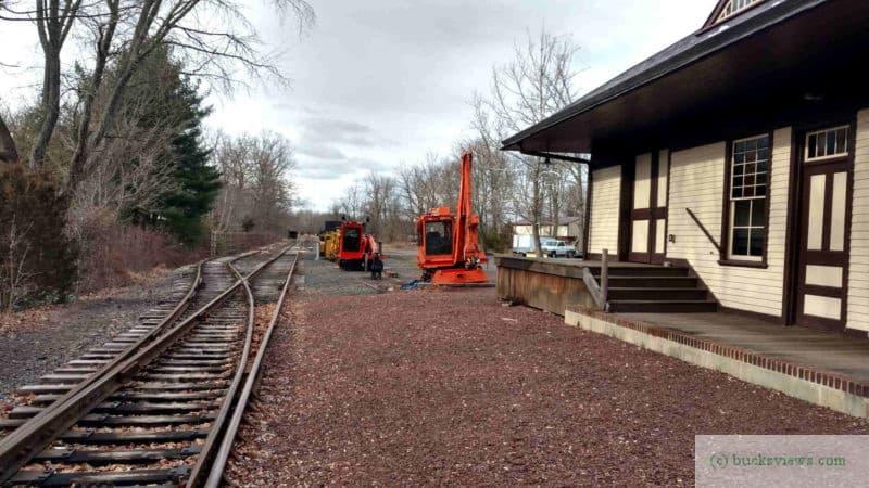 Wycombe Train Station 2018 Tracks