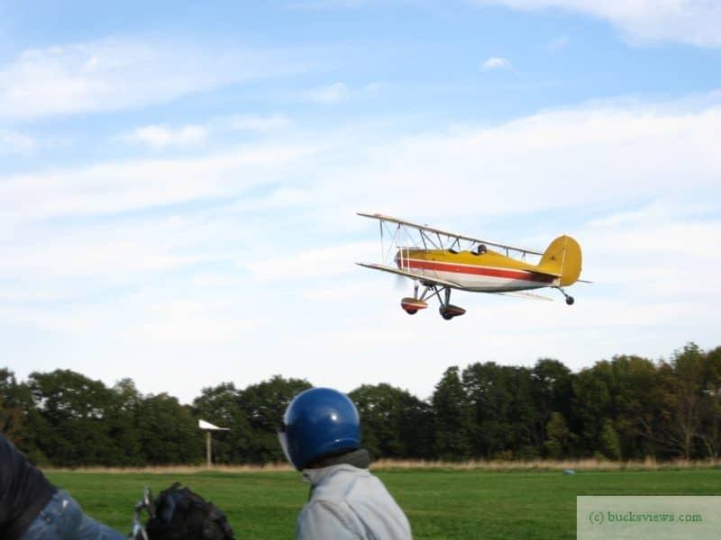 Biplane at Van Sant Airport