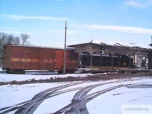 Quakertown Freight Platform