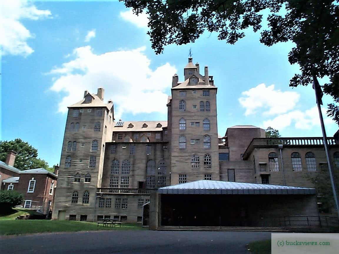 The Mercer Museum in Doylestown PA