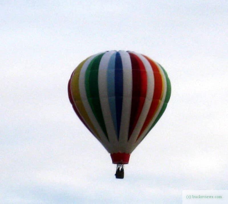 Hotair Balloon at Van Sant Airport