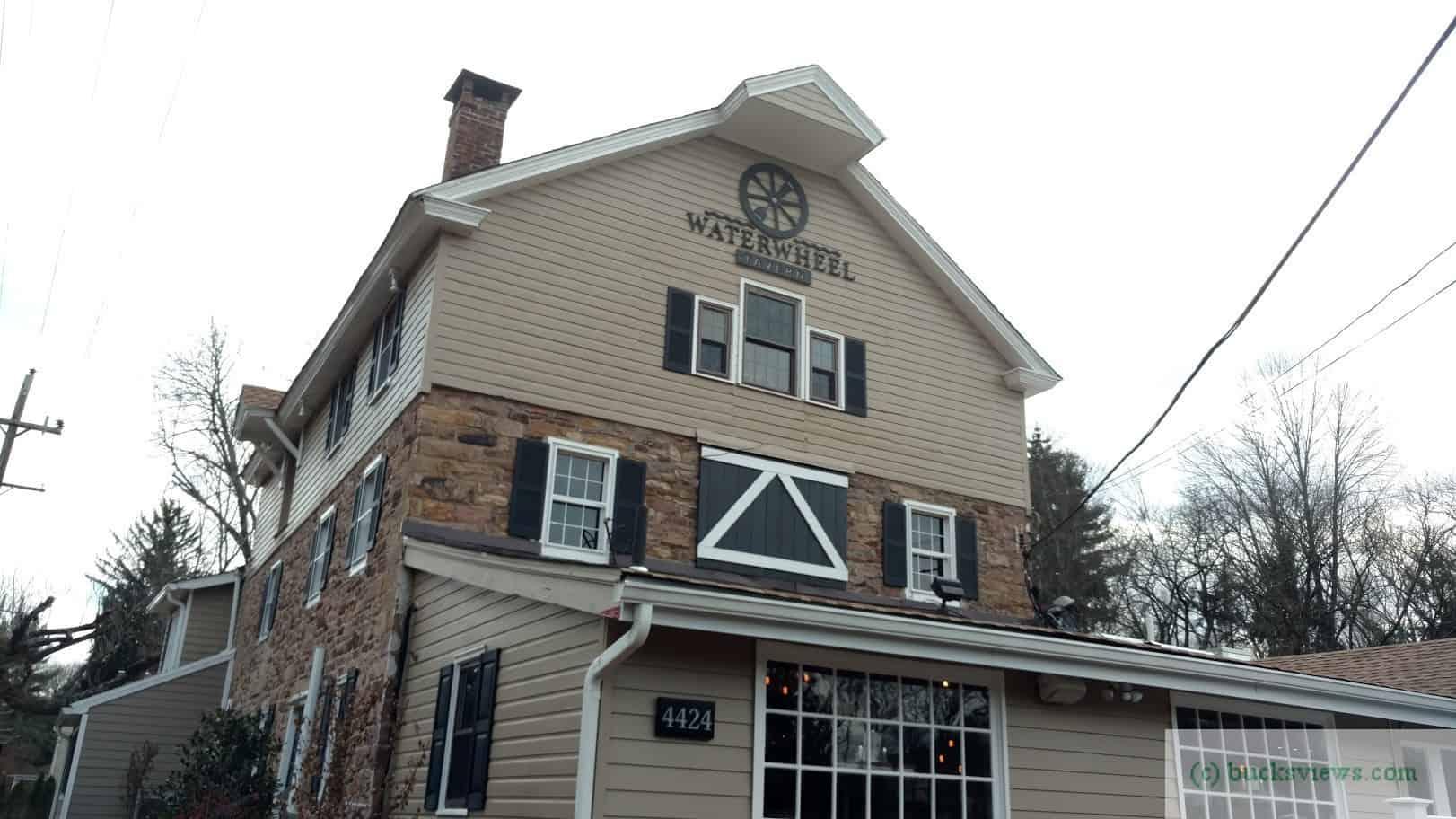 The Waterwheel Tavern in Doylestown