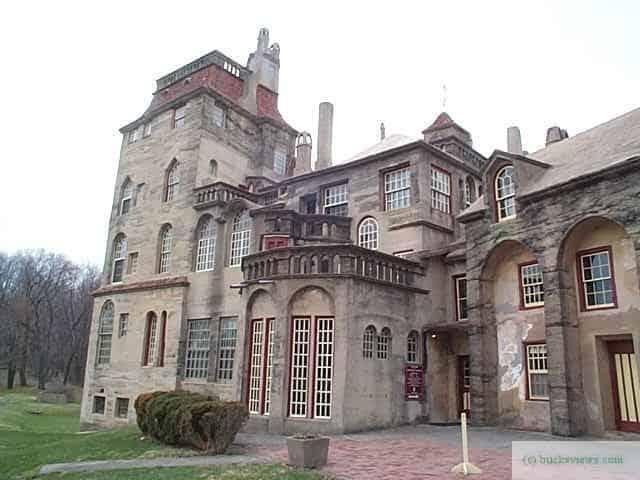 Fonthill Castle, The home of Henry Mercer