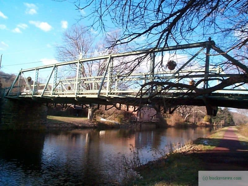 The Murray -Dougal Bridge in Point Pleasant - Side View