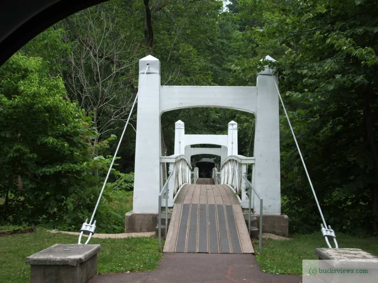 WPA Twin Bridges in Lenape Park in Perkasie PA