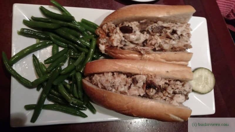 Chicken Cheesesteak at Bowman's Tavern New Hope