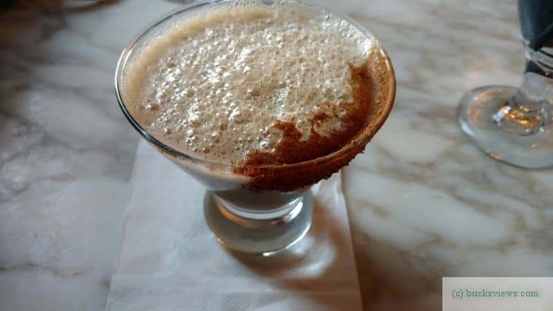 Cappuccino Martini at Karla's in New Hope