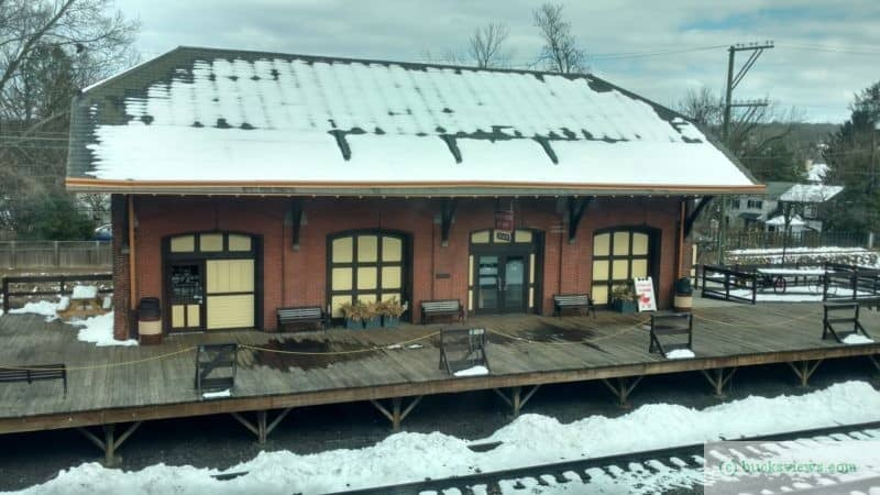 Freight House at the New Hope Station