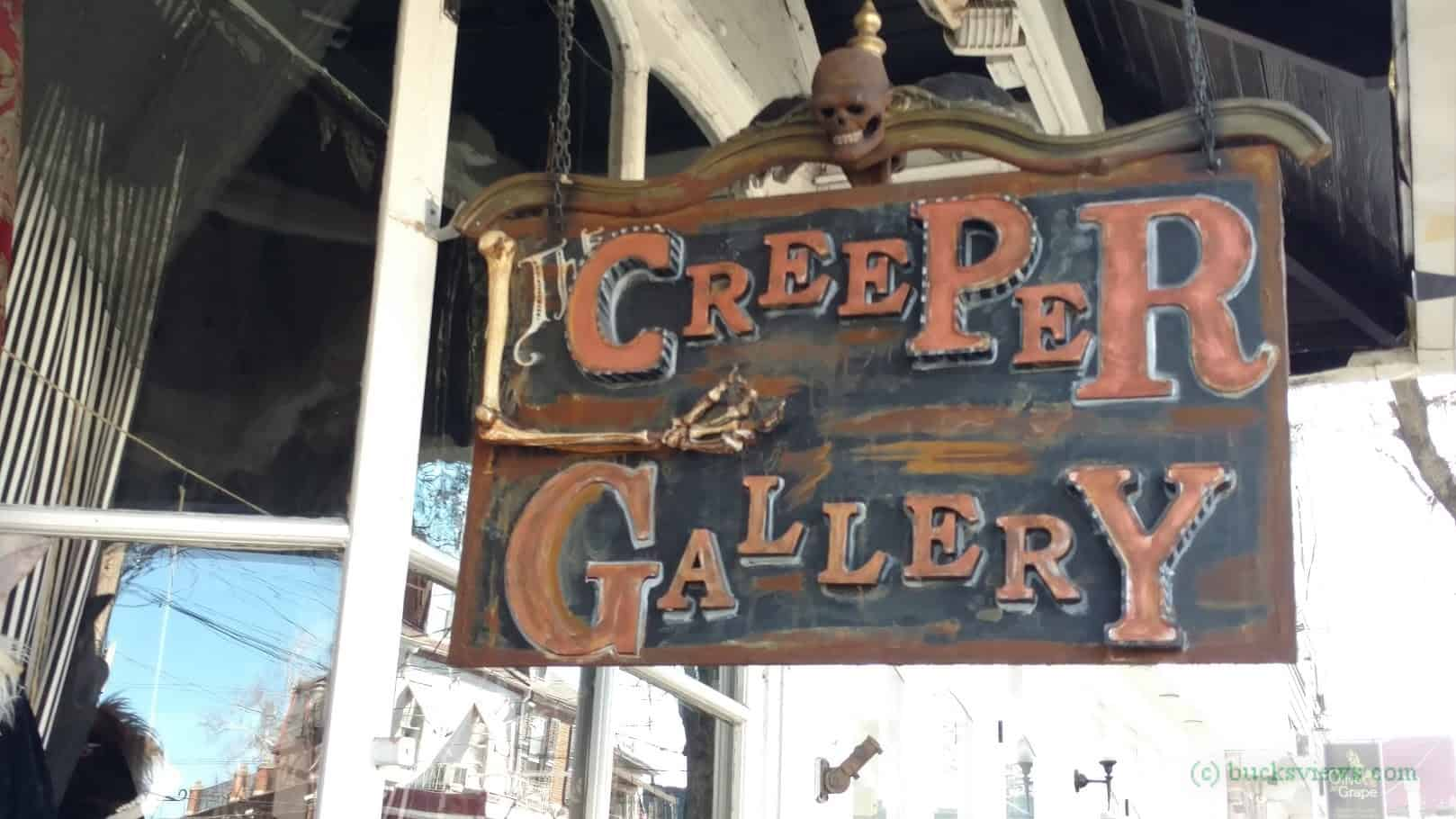The Creeper Gallery in New Hope