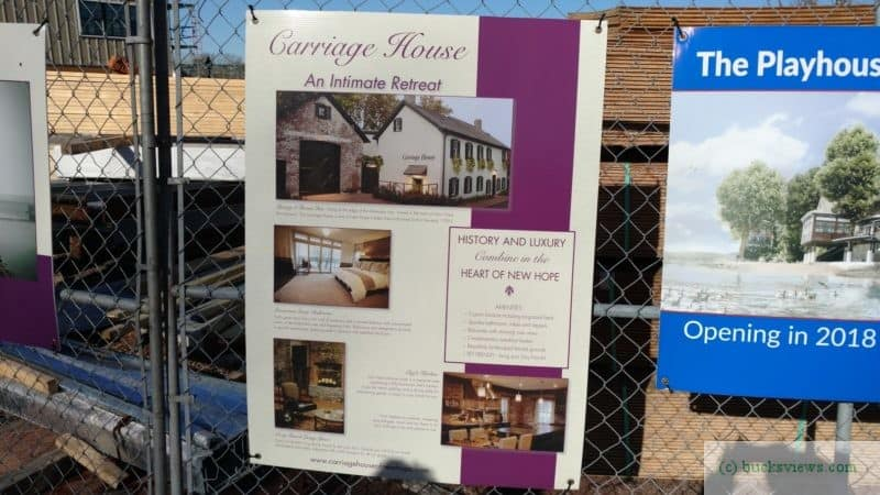 Proposed Carriage House Renovations
