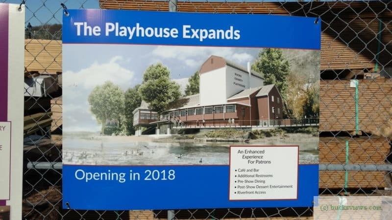 Bucks County Playhouse Expansion Plans