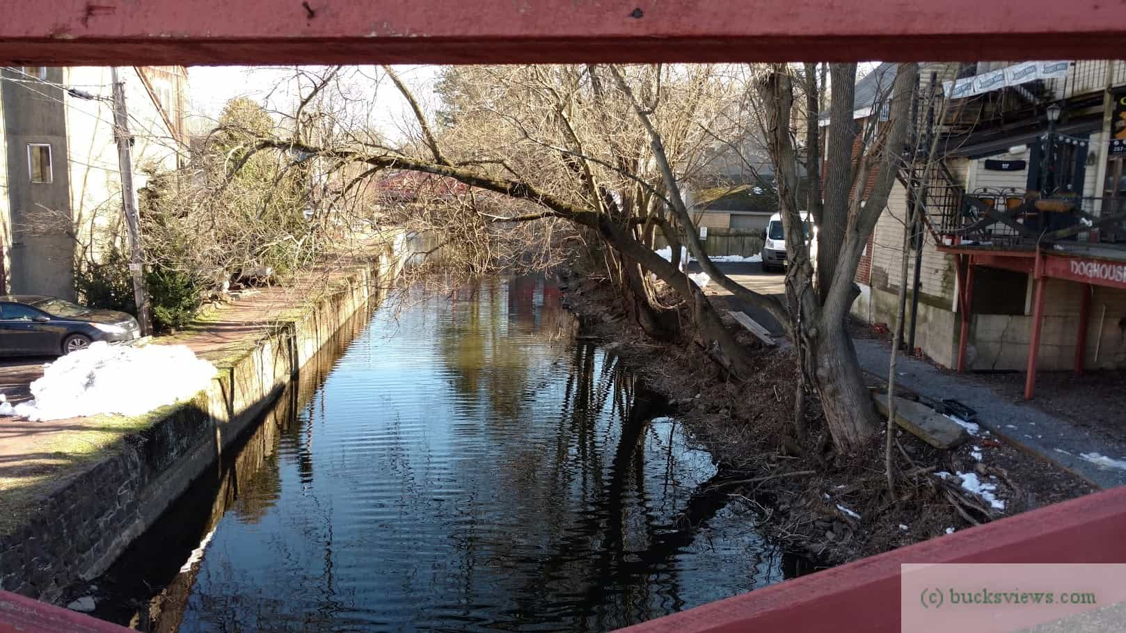 Canal at New Hope March 2018
