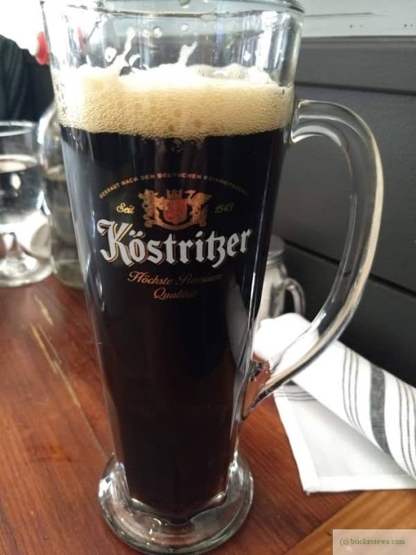 Kostritzer Schwarbier at the Devils Acre