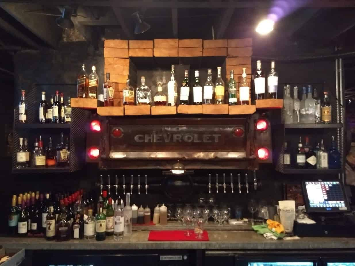bar at Hattery Stove and Still in Doylestown, PA