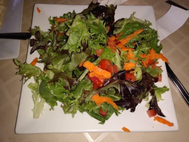 House salad at the New Britain Inn