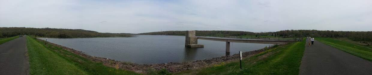 Panorama of Peace Valley Lake