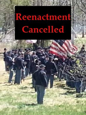 The Civil War Reenactment in Neshaminy Park appears to be permanently cancelled.