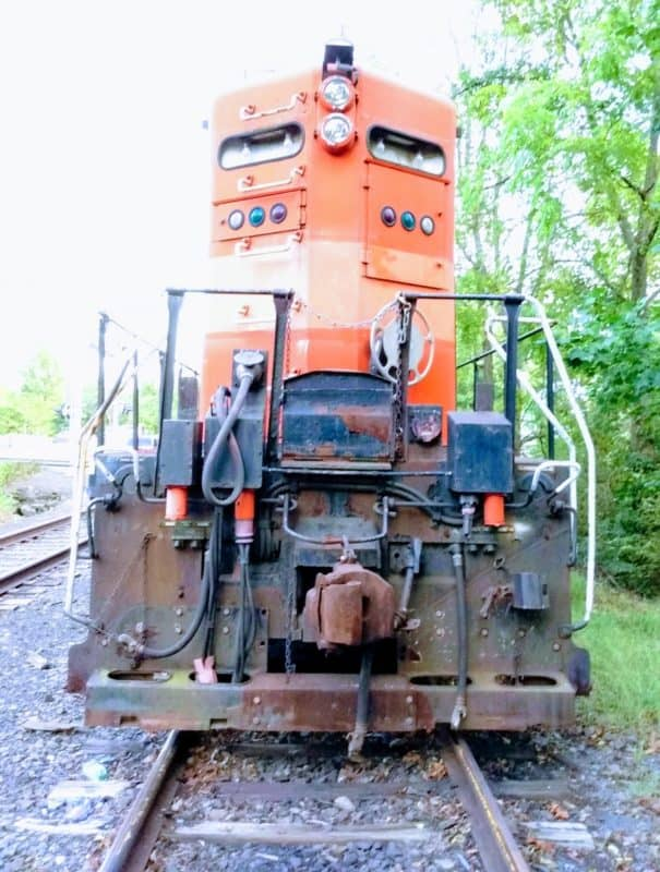 Engine 7210 from the New Hope Railroad