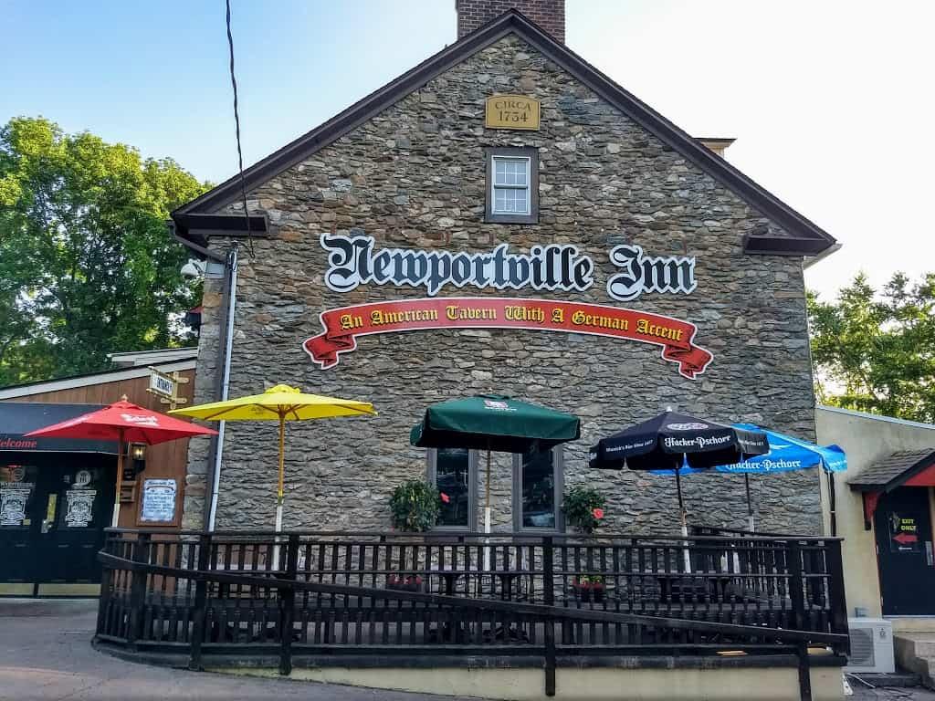 The Newportville Inn serving German food in Bensalem, PA