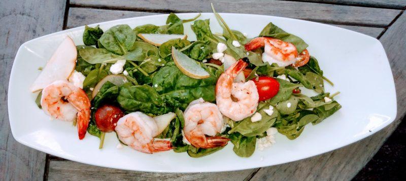 Shrimp Salad at the Pineville Tavern.