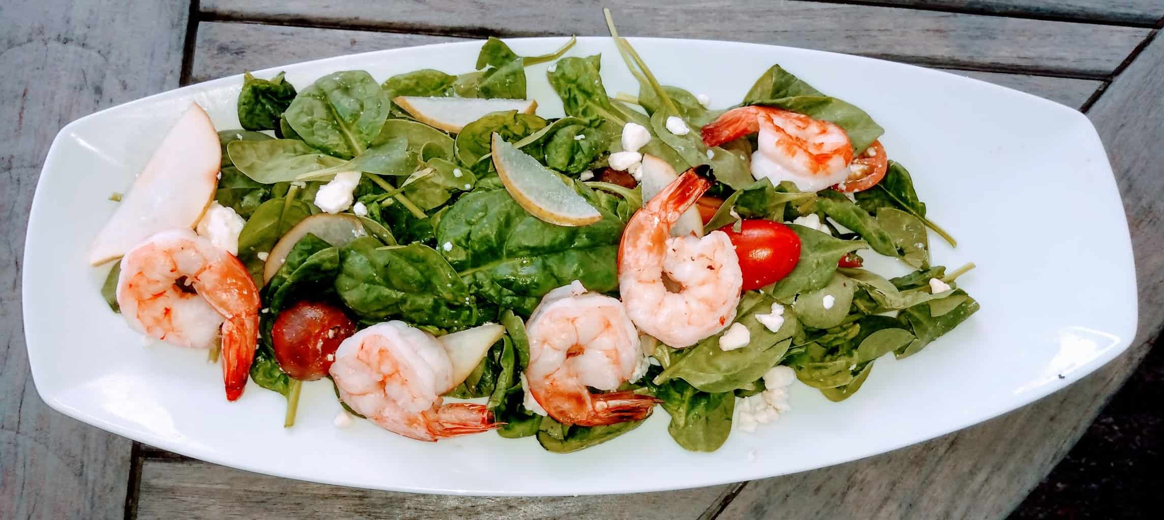 Shrimp Salad at the Pineville Tavern.