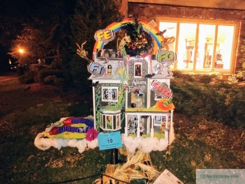Addam's Family Dollhouse - Peddler's Village 2019