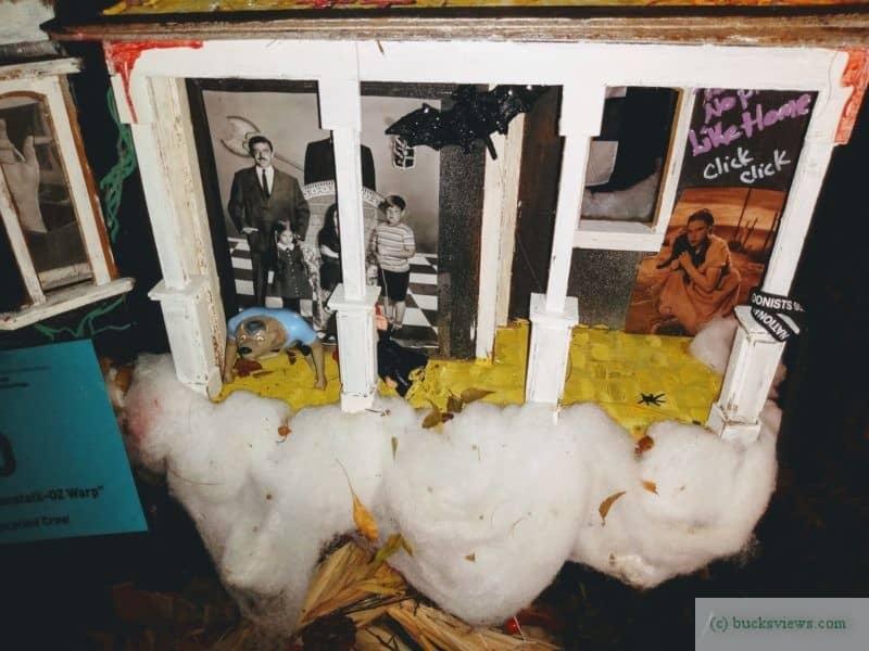 The Addams Family Dollhouse - Peddler's Village 2019