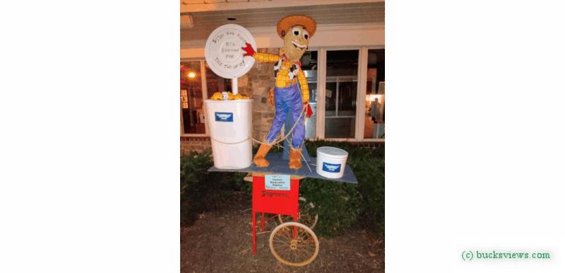 Clusters Popcorn Scarecrow Peddler's Village