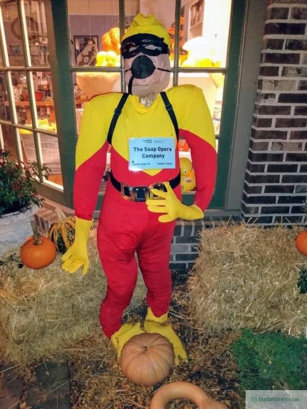 Soap Opera Company Scarecrow - Peddler's Village 2019