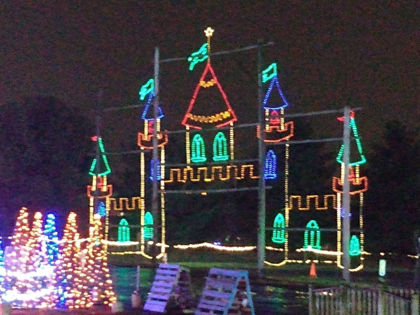 Christmas Light Castle - Shadybrook Farms 2019