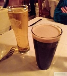 Beer at the Baci Restaurant in Doylestown