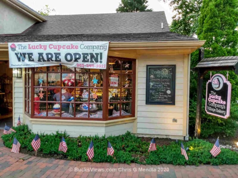 The Lucky Cupcake - Peddler's Village - Lahaska PA